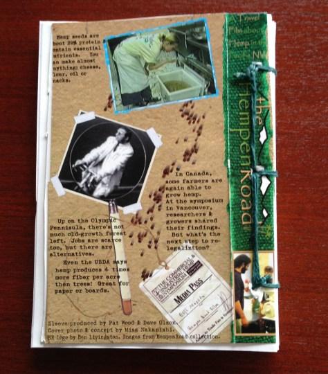Scrapbook: assembly / HempenRoad (back cover)