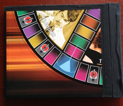 Scrapbook: assembly / SNL board game (back cover detail)