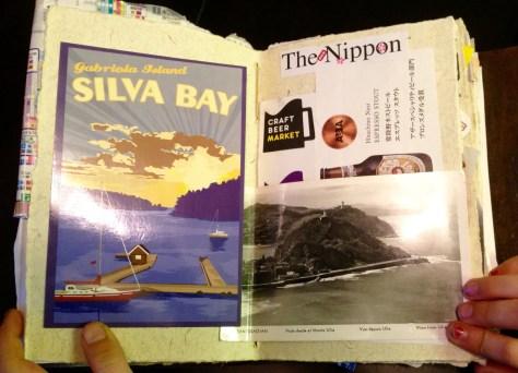 Scrapbook: Gabriola > Japan > Australia, 2015 / Japan ephemera (page detail)