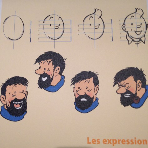 Reference expressions for Tintin and Captain Haddock – Hergé / Tintin artifacts in Québec City