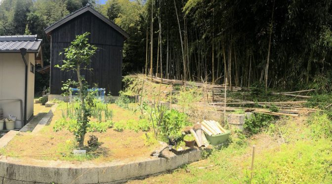 Japan Generational farm house and cottage story