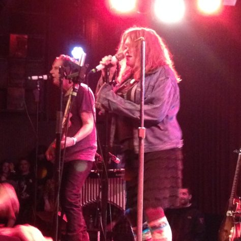 John Doe and Exene Cervenka sing / X 40th anniversary tour/show at The Independent in San Francisco
