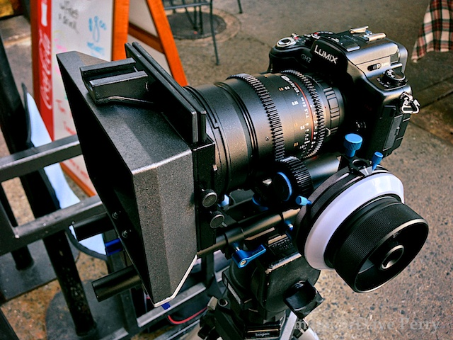 GH2 with 24mm T1 Rokinon Cine Lens