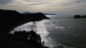 Cape Meares, Looking South