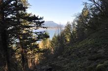 Columbia Gorge From Multnomah Falls Trail