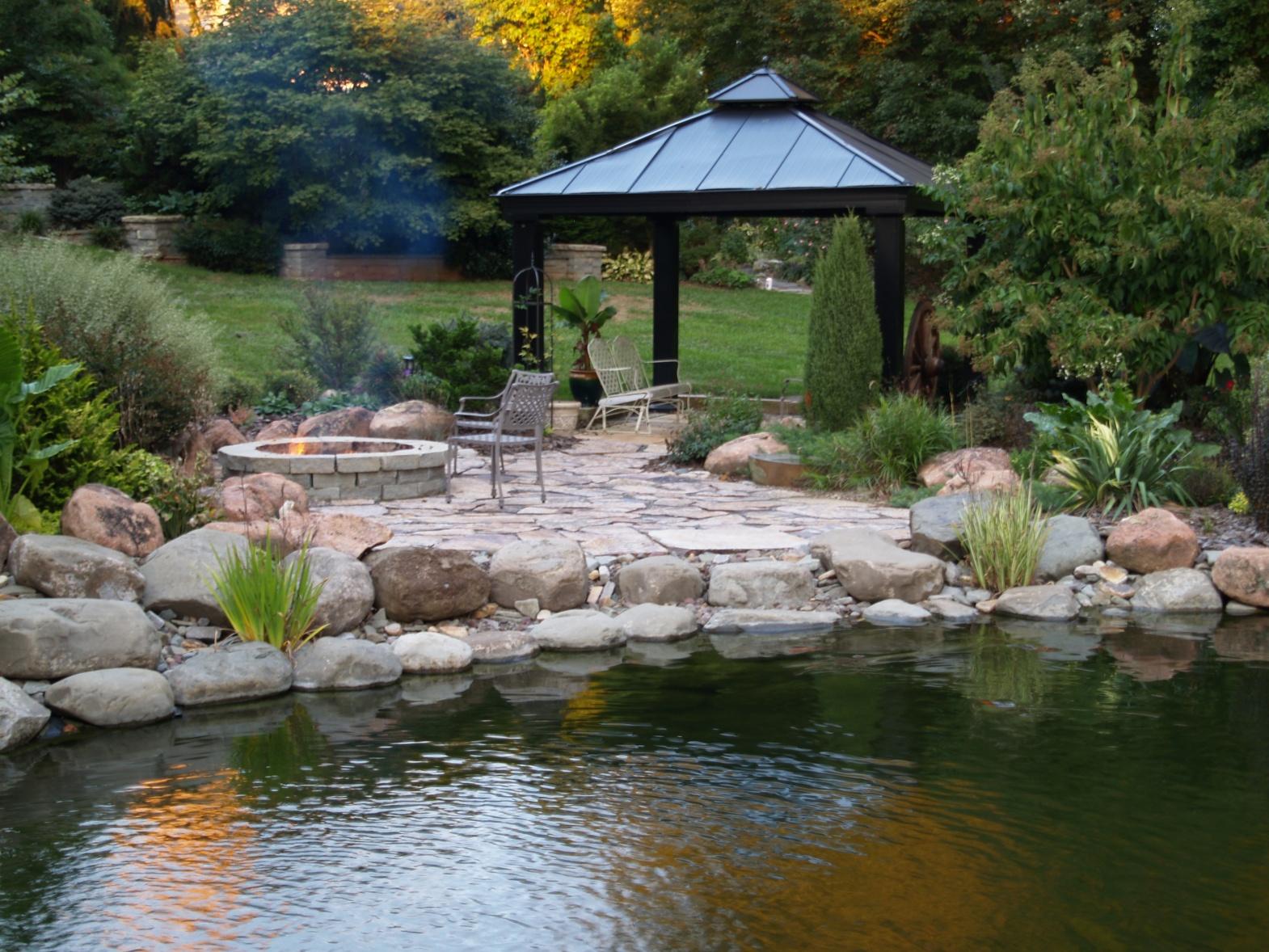 The Swimming Pond  Ramblin through Daves Garden
