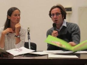 Paola Loreto e Italo Testa