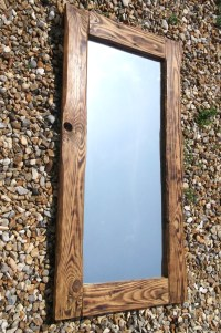 Reclaimed Wood Mirrors | Dave's Beach Hut