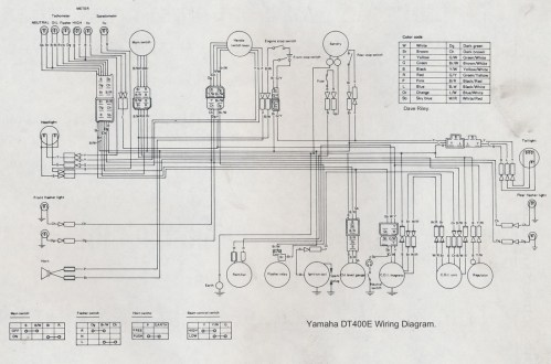 small resolution of yamaha sr 125 wiring diagram wiring diagrams the manuals dave s bikes yamaha sr 125 headlight wiring