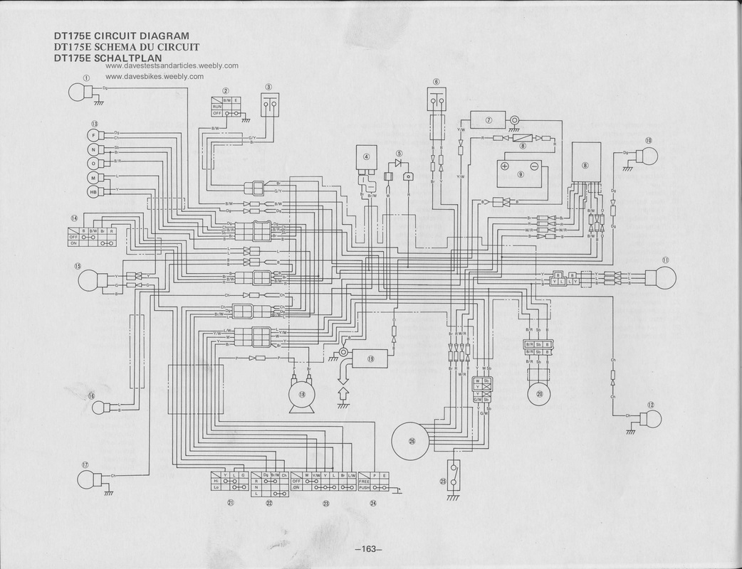 hight resolution of 1979 yamaha 175 it wiring schema wiring diagrams 1983 yamaha it175 1979 yamaha 175 it wiring