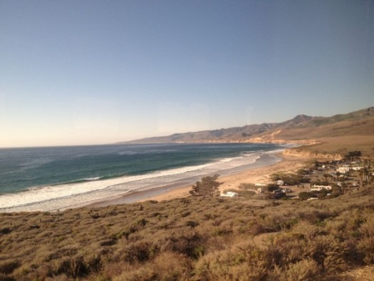 Coast starlight views