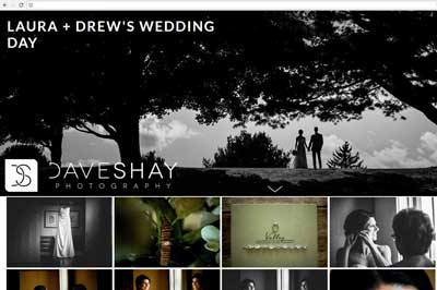 Digital Files Online Wedding Gallery