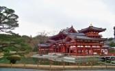 Phoenix Hall at Byodo-in, Uji.