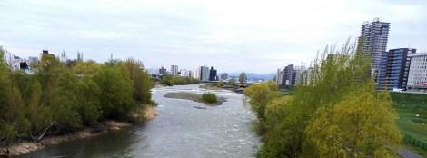Toyohira River, near Nakajima Park