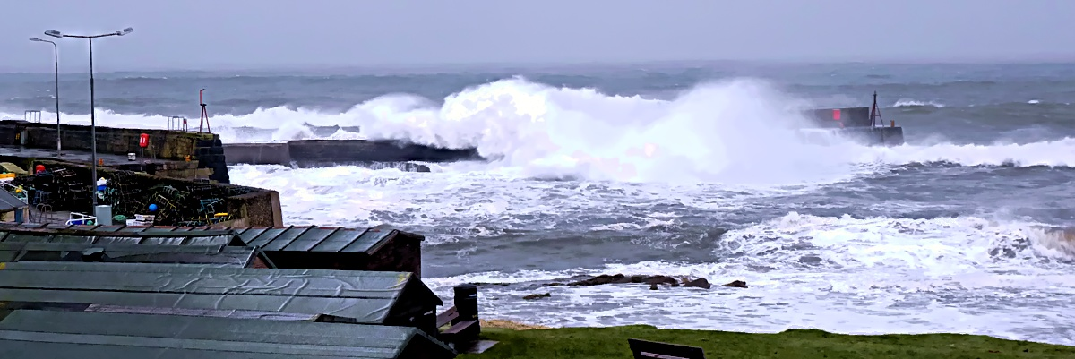 The long and winding pier #3 – Stormy Monans