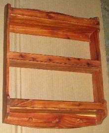 Aromatic Red Cedar wood rack.