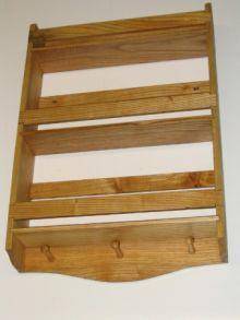 Ash wood spice rack.