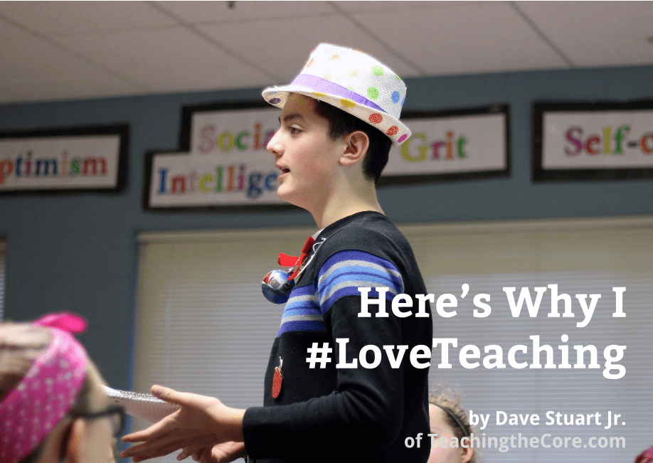 Post Image- #LoveTeaching