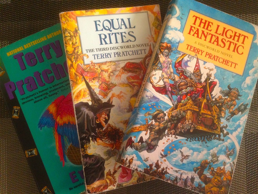 Truly lost in the cosmos terry pratchett books copy