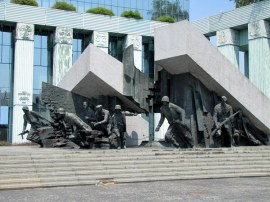 Memorial to the Warsaw Uprising