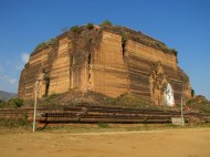 Mingun Pagoda, destroyed by an earthquake in 1838 and never completed.