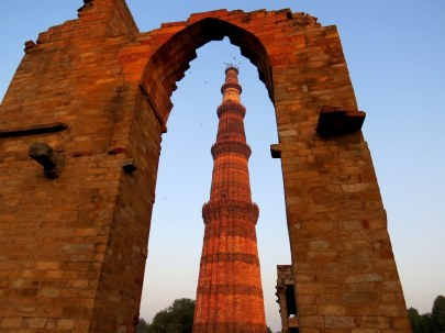 Qutub Minar tower, New Delhi