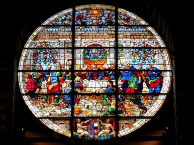 The last supper, Duomo of Siena