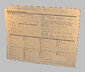 CA 60 Cumulative Student Record Folder