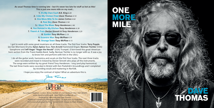 One More Mile Artwork