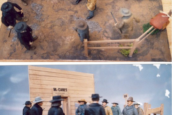 "1/16th Scale ""Gunfight at the OK Corral"""