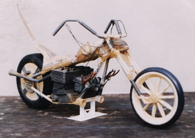 1/6th Scale Alien BioMech Bike