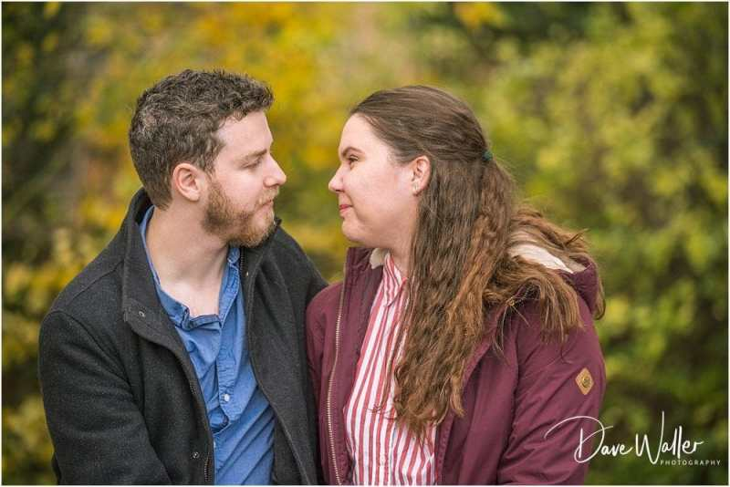 Dave Waller Photography,West Yorkshire Wedding Photography, West Yorkshire Weddings,autumn engagement shoot,engagement shoot