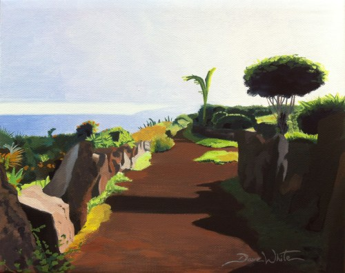 tenerife, canary islands, artist dave white, tenerife painting, canary islands painting