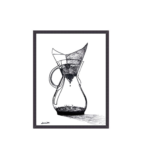 Chemex Coffee Art