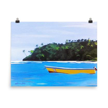 Tropical Seascape Painting Costa Rica