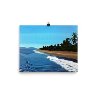 Puntarenas Costa Rica Beach Painting