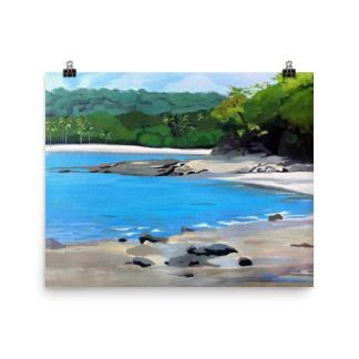 Costa Rica Playa Panama Painting Art Print
