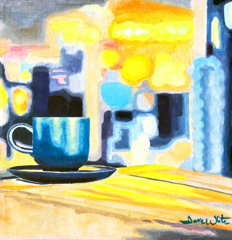 Original Coffee Painting