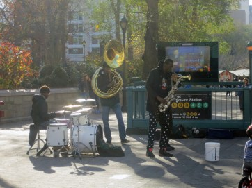 Union Square Park, New York City, Street Musicians