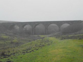 Lunds Viaduct with it's distinct 5 arches, Settle-Carlisle line