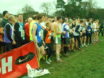 Serious on the start line