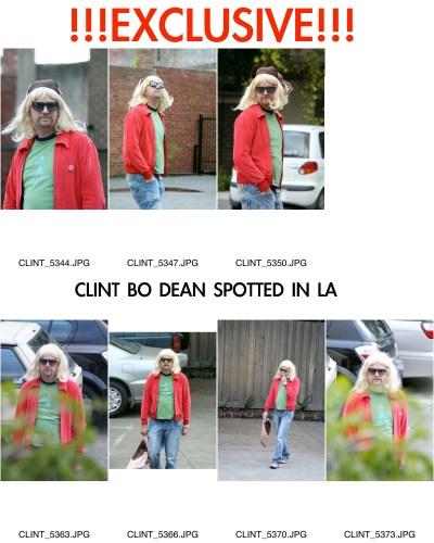 Exclusive Clint Bo Dean Pics
