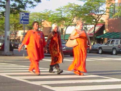 Pumpkins walk among us