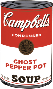 Campbells Ghost Pepper Pot Soup