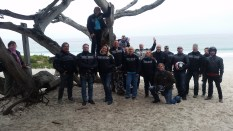 Team Two - On the beach in Clint Eastwood's home town Carmel