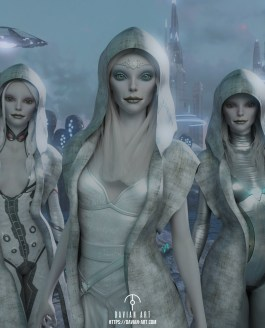 Allyria and the High Council of Lyrans