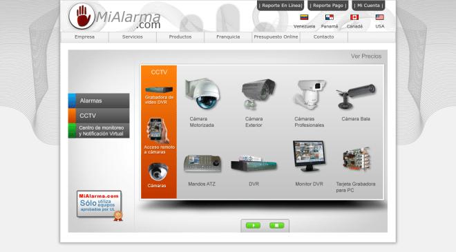 MiAlarma.com - Home - CCTV