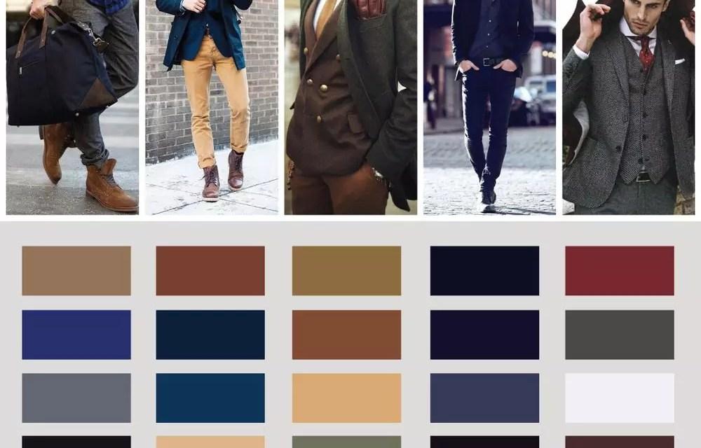 Jak łączyć ze sobą kolory w modzie męskiej?