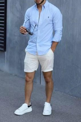 męska stylizacja na lato