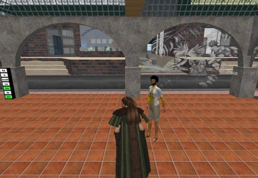 Historic First Meeting in Second Life